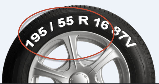 Find Car Tyre Size